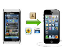 Importare i contatti su iPhone agendo da browser Web
